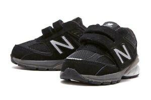 nombre Rebobinar oficial  New Balance 990v5 # IV990BK5 Black Medium Width Toddler SZ 5 - 8 | eBay