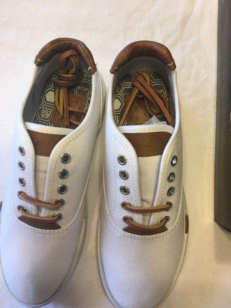 Impulse White Canvas Shoes Shoes Canvas Size 7.5 6d141a