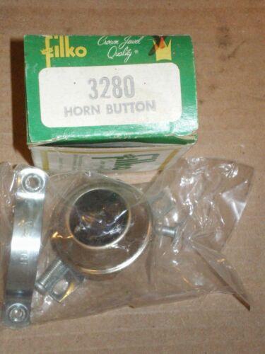 NOS FILKO 3280 12 VOLT CLAMP ON HORN BUTTON HOT ROD RAT ROD CUSTOM