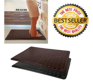 Anti-Fatigue-Floor-Mat-18-034-x-30-034-Comfort-Memory-Foam-Kitchen-Rug-4-COLORS