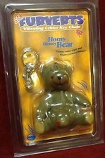 Key Chain Bear Vibrating Willy Sex Furverts adult funny gag gift novelty