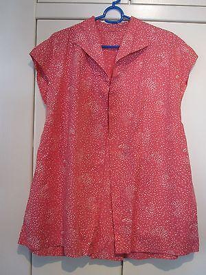 Original Vintage-blusenjacke Ca. Gr. 40/42 (maße Beachten, Da Geschneidert) - 70-en Gute QualitäT