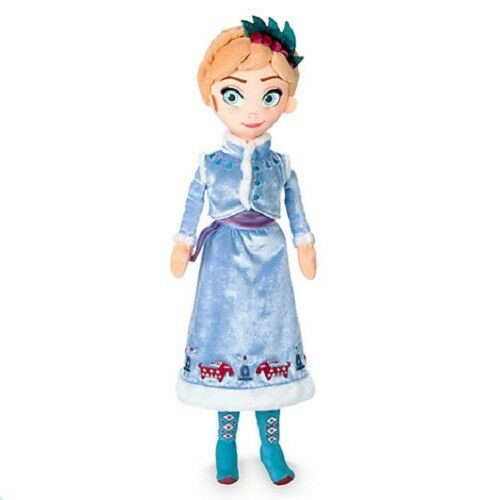 Official Disney Store Olaf/'s Frozen Adventure Anna Soft Plush Toy Doll