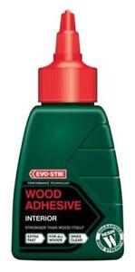 Evo-Stik Resin W Wood Weatherproof Adhesive Glue INTERIOR Fast Dries Clear 125ML