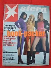 STERN 1970 Nr. 43: Horst Mahler / Pop-Generation / Erster Sex-Report aus Afrika