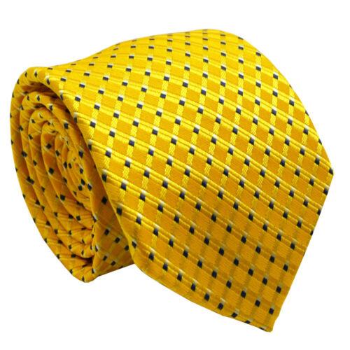 NT229 menwithtie Jaune Hommes Cravate Bureau Fête Mariage Formel Cravate