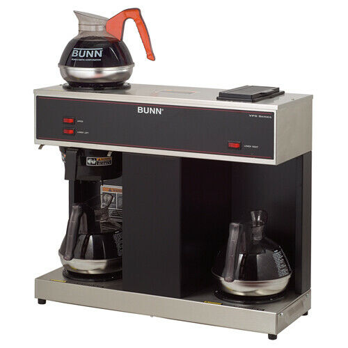 Bunn Pour-o-matic Brewer - Stainless Steel - 2 Quart - Stainless Steel (VPS)