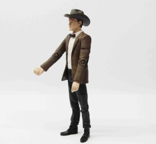"""Doctor Dr Who the Eleventh 11th Dr Matt Smith Cowboy Hat Action figure 5.5/"""""""