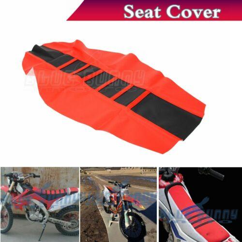 Universal Gripper Soft Seat Cover Rib Skin Rubber For Honda CRF250 CRF450 R//X//L