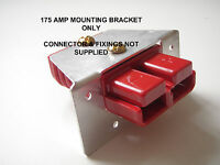 ANDERSON, DURITE, REMA PLUG SB 175 AMP FLUSH PANEL MOUNTING BRACKET CONNECTOR