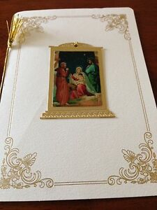 9 RARE HALLMARK Cards Hall Family Christmas Cards And Ornaments