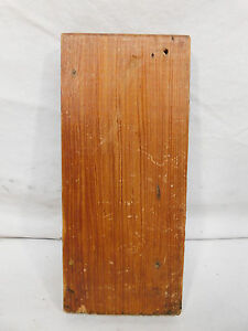 Antique Craftsman Style Plinth Block - Circa 1910 Fir Architectural Salvage