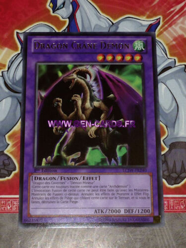 Carte YU GI OH DRAGON CRANE DEMON LCJW-FR240