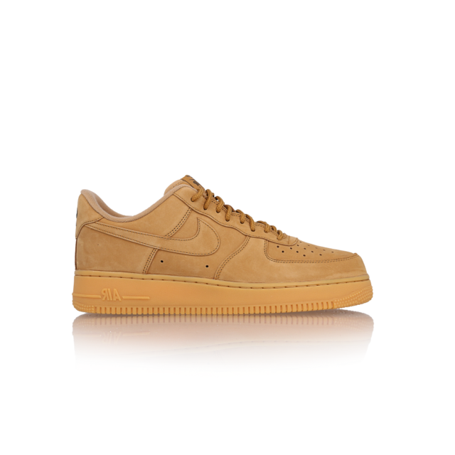 new arrival f0d6a e4ea0 Nike Men s Air Force 1 Low Flax Gum Light Brown Wheat Aa4061 200 Size 10