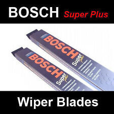 BOSCH Front Windscreen Wiper Blades and Land Rover Defender (90-)