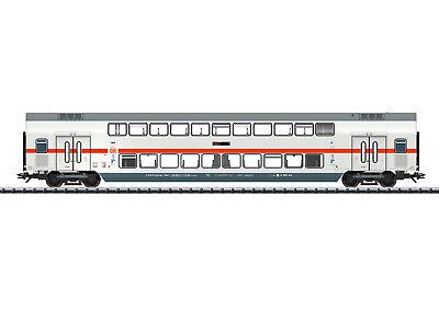 nuevo embalaje original clase Trix h0 23249 ic2 doble piso-remolque intermedio 2