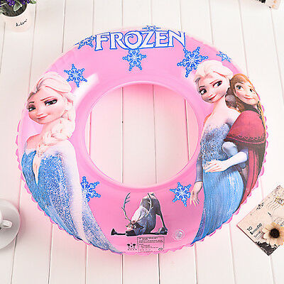 New Frozen Swin Baby Girl Kids Inflatables Floats Swimming Rings Trainer Pool