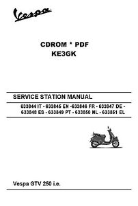 Details about Vespa GTV 250 ie Service Station Manual * Parts Manual on vespa dimensions, vespa motor diagram, vespa stator diagram, vespa sprint wiring, vespa engine, vespa clock, vespa 150 wiring, electric scooter diagram, vespa frame diagram, vespa v50 wiring, vespa switch diagram, vespa accessories, vespa parts diagram, scooter battery wire diagram, vespa seats,