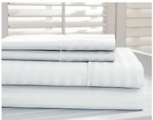 Image Is Loading 800 Thread Count Cotton Rich Dobby Striped Super
