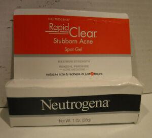Neutrogena Rapid Clear Stubborn Acne Spot Treatment Gel Exp 08 21
