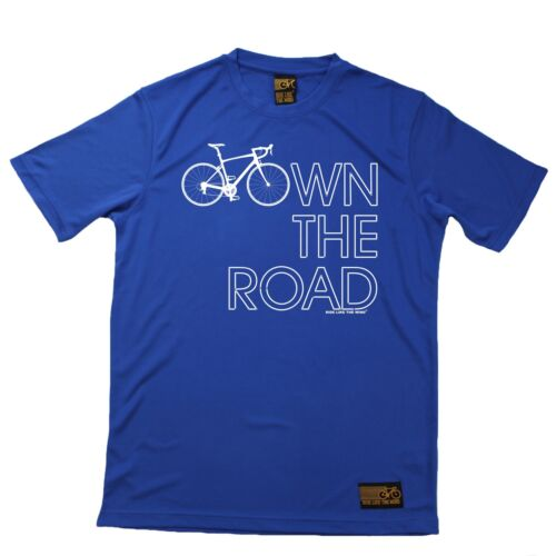 Breathable Sports T-SHIRT Cycling Birthday Gift Present Own The Road Bicycle