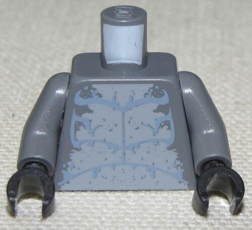 LEGO NEW ATLANTIS HAMMERHEAD MINIFIGURE TORSO WITH BLACK HANDS