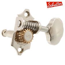 NEW Schaller GrandTune 3x3 GRAND TUNE Tuners Keys Waverly Butterbean - NICKEL