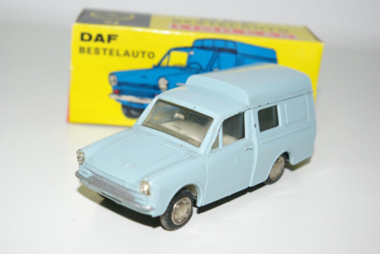 LION CAR DAF 33 VARIOMATIC commandé Van Light bleu Presque comme neuf Processeur en Boîte RARE RARE RARO