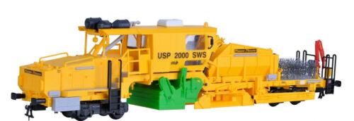 H0 Kibri 16060 Schotterverteil- u Bausatz Profiliermaschine USP2000SWS PLASS