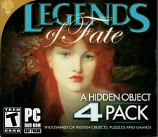 3 CARDS TO DEADTIME Hidden Object LEGENDS OF FATE 4 PACK PC Game DVD-ROM NEW