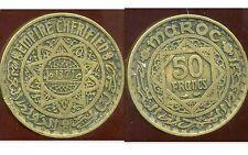 MAROC 50 francs  1371