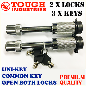 HITCH-PIN-LOCK-5-8-S-TYPE-TOW-BAR-TONGUE-LOCK-TRAILER-PART-4WD-CARAVAN-Uni-Key-2