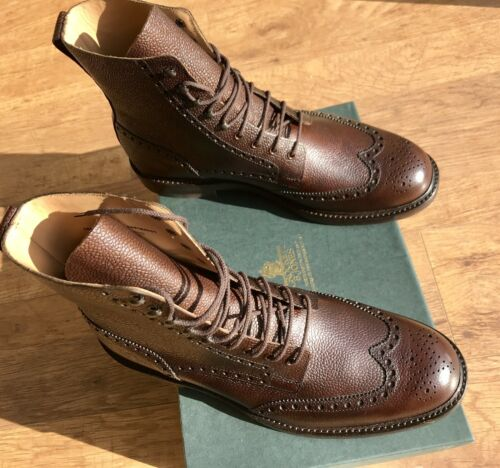 Jones botas Crockett 480 Islay entero grano Brown 10f Scotch Unido de Reino Rrp y £ X6X5qZrg