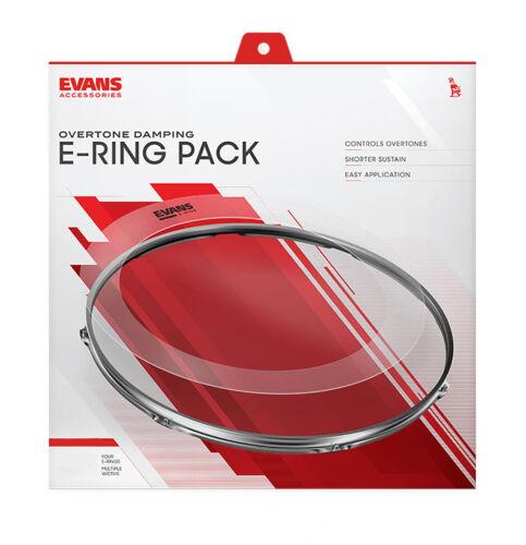 Evans E Ring Fusion Tom Set Stops Unwanted Drum Overtones ER-ROCK