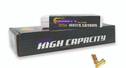 Trinity White Carbon 2s 7.4v 4100mah 120c Lcg LiPo Battery Pack W// 5m-TRITEP2314