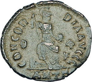 THEODOSIUS-I-the-GREAT-Genuine-378AD-Authentic-Ancient-Roman-Coin-i65910