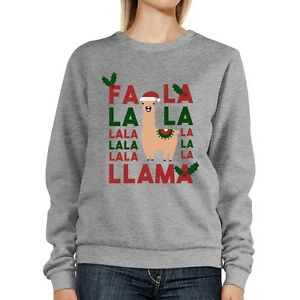 Fa-La-La-Llama-Sweatshirt-Cute-Christmas-Gifts
