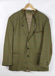 FRANKONIA-JAGT-Herren-Sakko-Jacke-mehrfarbig-Groesse-54-100-reine-Schurwolle