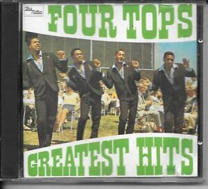CD-COMPIL-12-TITRES-FOUR-TOPS-GREATEST-HITS