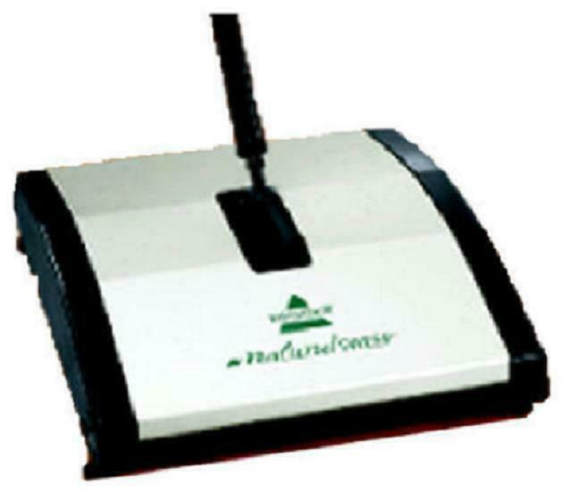 Bissell Natural Sweep Bagless Cordless Mechanical Sweeper Standard Multicolored