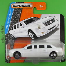 Matchbox 2016 -  Cadillac ONE weiss  - MBX Adventure City - 10 - neu in OVP