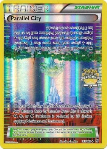 OtBG x1 Parallel City 145//162 City Championship Promo Pokemon Holo Near Mint NM