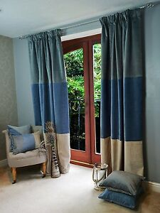 riva lined velvet pencil gold home woven curtains pleat imperial itm ebay