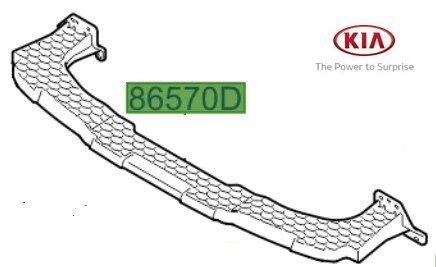 Genuine Kia Sportage 2010-2013 Front Bumper Stiffener Upper 865703U000