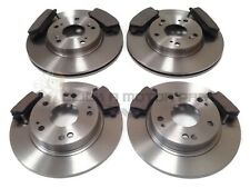 for HONDA CIVIC 1.4 1.8 2.2 CDTi 2006-2011 FRONT & REAR BRAKE DISCS AND PADS