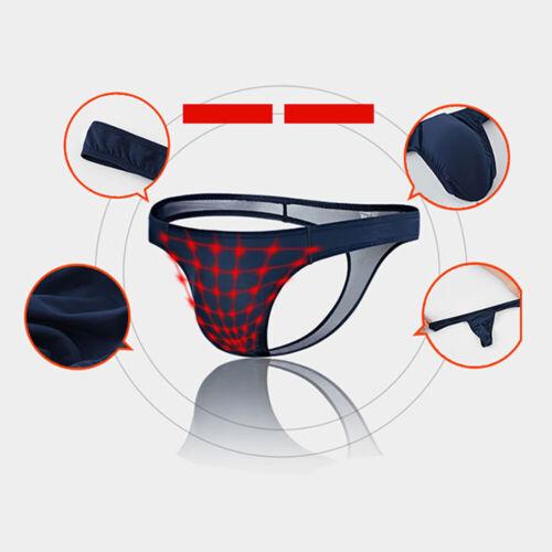 Mens Underwear Bulge Pouch Thongs Bikini Lingerie T-Back Briefs Swims Panties