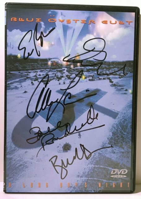 Blue Öyster Cult - A Long Days Night (DVD, 2002) Autographed twice