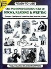 Ready-to-Use Old-Fashioned Illustrations of Books, Reading and Writing by Dover Publications Inc. (Kit, 2000)