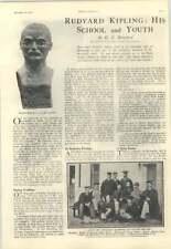 1928 Rudyard Kipling's School And Youth, Schoolmaster Group Photo