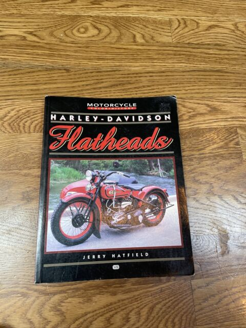 Harley Davidson Flatheads by Jerry Hatfield Softcover 1999 History Motorcycles